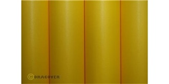Oratex gelb Cub Bügelfolie  2m Rolle