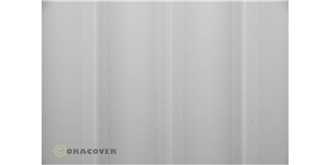Oracover weiss Bügelfolie  2m Rolle