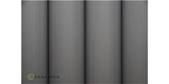 Oracover lichtgrau Bügelfolie  2m Rolle