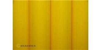 Oracover gelb-cadmium Bügelfolie 2m Rolle