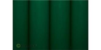Oracover grün Bügelfolie  2m Rolle