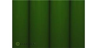 Oracover grünhell Bügelfolie  2m Rolle