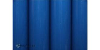 Oracover blau Bügelfolie  2m Rolle
