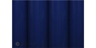 Oracover blau dunkel Bügelfolie  2m Rolle
