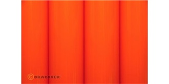 Oracover orange Bügelfolie  2m Rolle