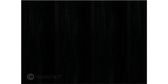 Oracover schwarz Bügelfolie   2m Rolle