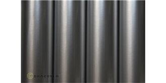 Oracover silber Bügelfolie 2m Rolle
