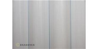Oracover weiss 'Scale' Bügelfolie  2m Rolle
