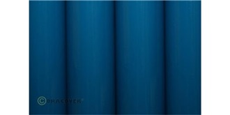 Oracover blau Royal Bügelfolie  2m Rolle