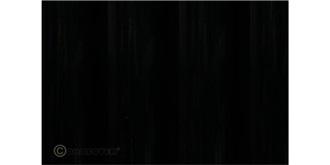 Oralight schwarz Bügelfolie 2m Rolle