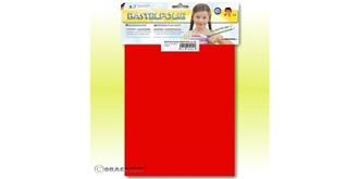 Orastick rot leuchtend Reparaturbogen ca. A4