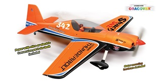 RC Flug Phoenix Sbach 342 orange ARF 143cm