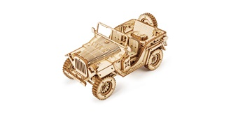 Pichler Army Jeep Holzkit