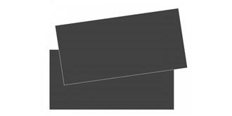 Platte GFK 1mm schwarz 400x200mm