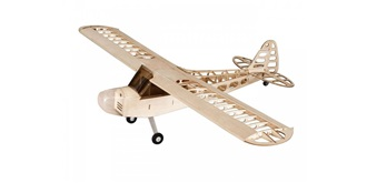 RC Flug Piper J3 Cub 1200mm Kit Holz