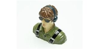 Pilotenpuppe Spacewalker grün lackie..