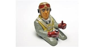 Pilotenpuppe Westland lackiert h=150mm