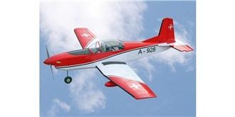 RC Flug VQ Pilatus PC-7 Swiss 1540mm ARF