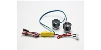 Licht Set LED Scheinwerfer 22mm HighPower