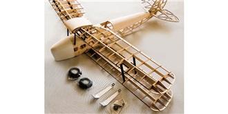 RC Flug Tiger Moth 1400mm Kit Holz