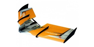 RC Flug RC Factory Zorro Wing orange 900mm