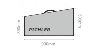 Flügelschutztaschen 900x500x350mm 2St