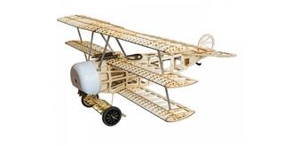 RC Flug Fokker Dr.1 770mm Kit Holz