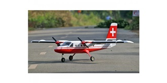 RC Flug VQ Models Twin Otter Swiss 1875mm ARF