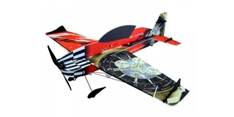 RC Flug RC Factory Extra 330 Superlite rot 840mm