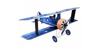 RC Flug RC Factory Crack Camel blau 875mm