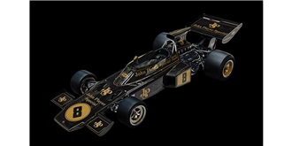 POCHER Lotus 72D 1972 Emerson Fittipaldi 1:8