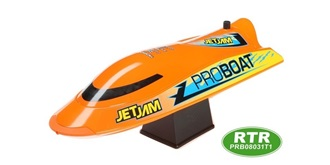 "RC Boot Proboat Jet Jam 12"" orange 305mm RTR"