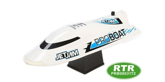 "RC Boot Proboat Jet Jam 12"" weiss 305mm RTR"