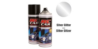 Lexan Spray Silver Glitter 150ml