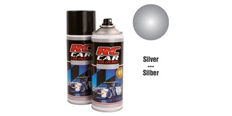 Lexan Spray silber Metallic 150ml