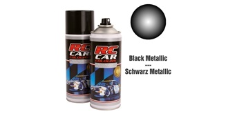 Lexan Spray schwarz Metallic 150ml