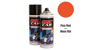 Lexan Spray rot Fluo 150ml