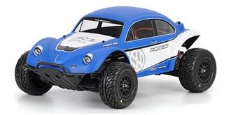 Karosserie Traxxas Slash 4x4 VW Baja unlackiert ..