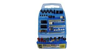 RotaCraft Multizubehör Kofferset 400teilig