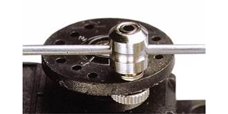 Gestängeanschluss 2.5mm Metall  2St