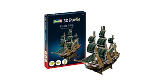 REVELL Piratenschiff 3D Puzzle