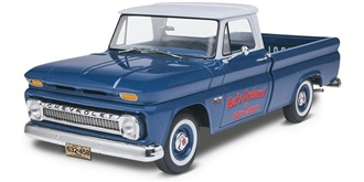 REVELL 66 Chevy Fleetside Pickup 1:25 Kit Plastik