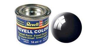 Farbe   7 schwarz Email  glanz        14 ml