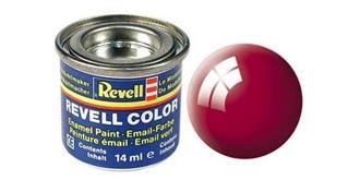 Farbe  34 ferrarirot Email  glanz   ..