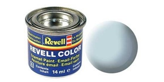 Farbe  49 blau hell Email  matt     ..