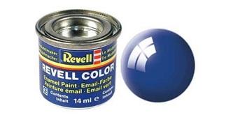 Farbe  52 blau Email  glanz        14 ml