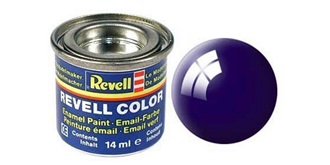 Farbe  54 nachtblau Email  glanz        14 ml