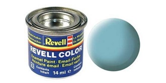 Farbe  55 hellblau Email  matt      ..