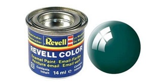 Farbe  62 moosgrün Email  glanz        14 ml