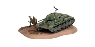Revell Panzer T-34/76 1940 1:76 Kit Plastik